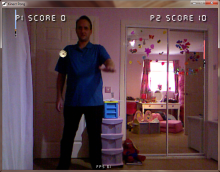 Kinect Games v2.5 with the Kinect for Windows SDk v1.6