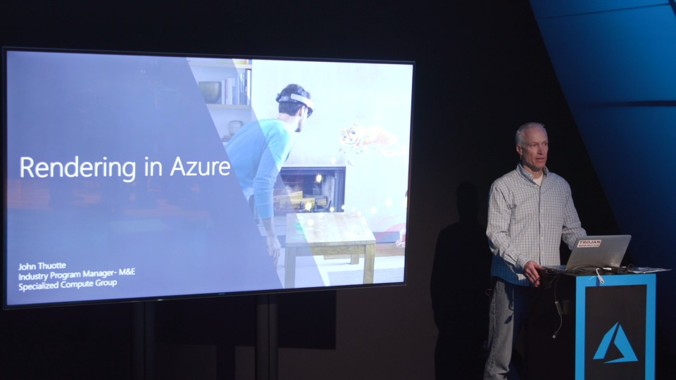 Rendering in Azure - Theater presentation