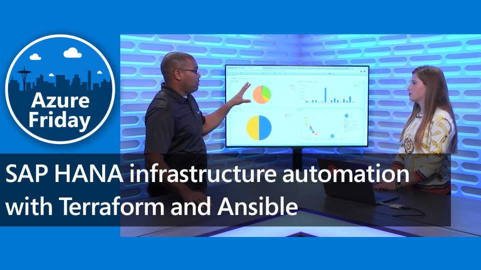 SAP HANA infrastructure automation with Terraform and Ansible