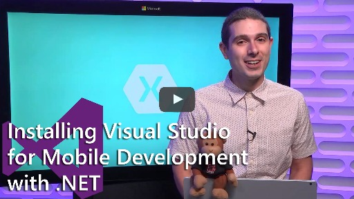 Installing Visual Studio 2017 for Mobile Development with .NET