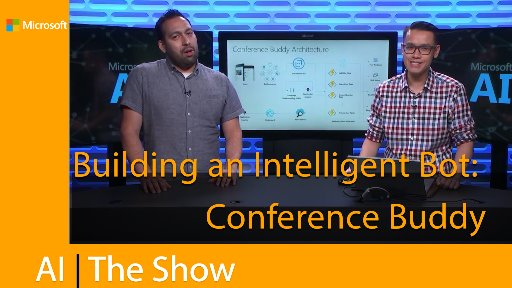 Building an Intelligent Bot: Conference Buddy