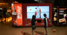 Dance For Free Cokes with this Kinect Enabled Vending Machine