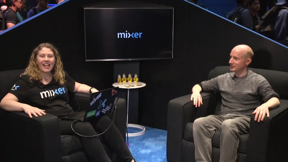 Mixer Interview of the Game Hyper Sentinel