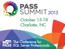 PASS Summit Sessions