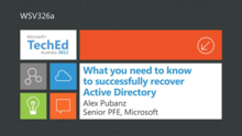 What you Need to Know to Successfully Recover Active Directory