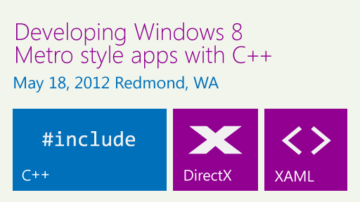 Developing Windows 8 Metro style apps with C++ sessions now online
