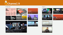 Windows 8 App for Channel 9 now available