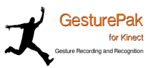 "GesturePak (Beta) for the Kinect - A ""no code"" gesture recording and matching library"
