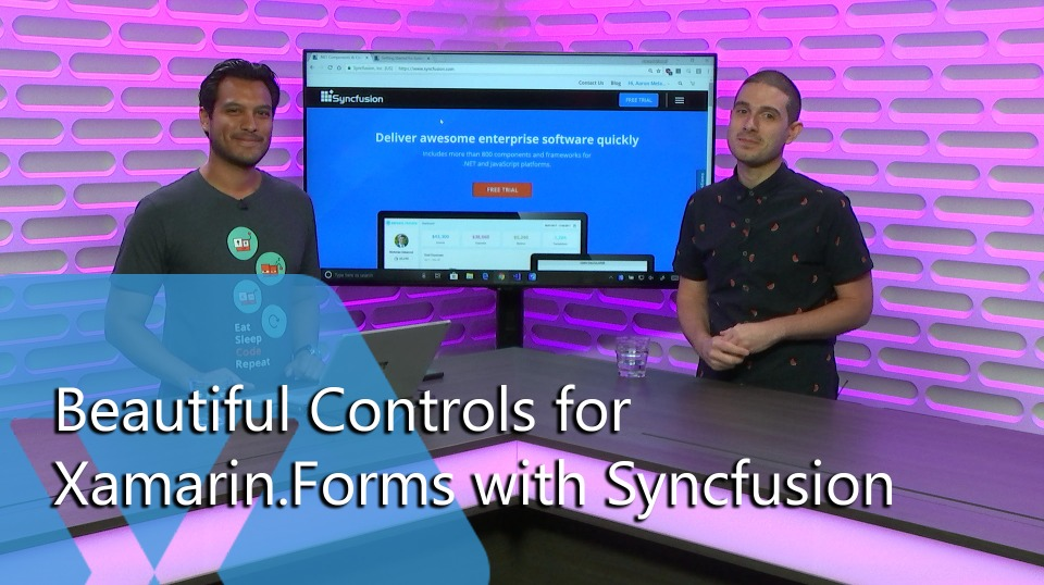Beautiful Controls for Xamarin.Forms with Syncfusion