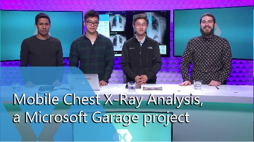 Mobile Chest X-Ray Analysis, a Microsoft Garage Project