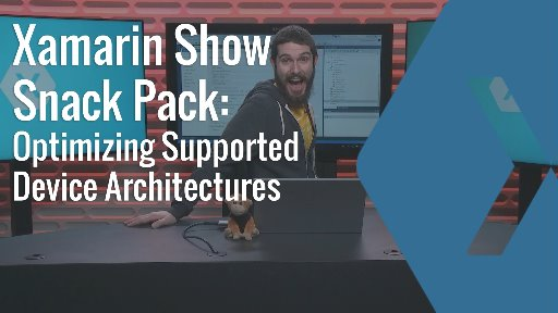 Snack Pack: Configure iOS & Android Architecture Types
