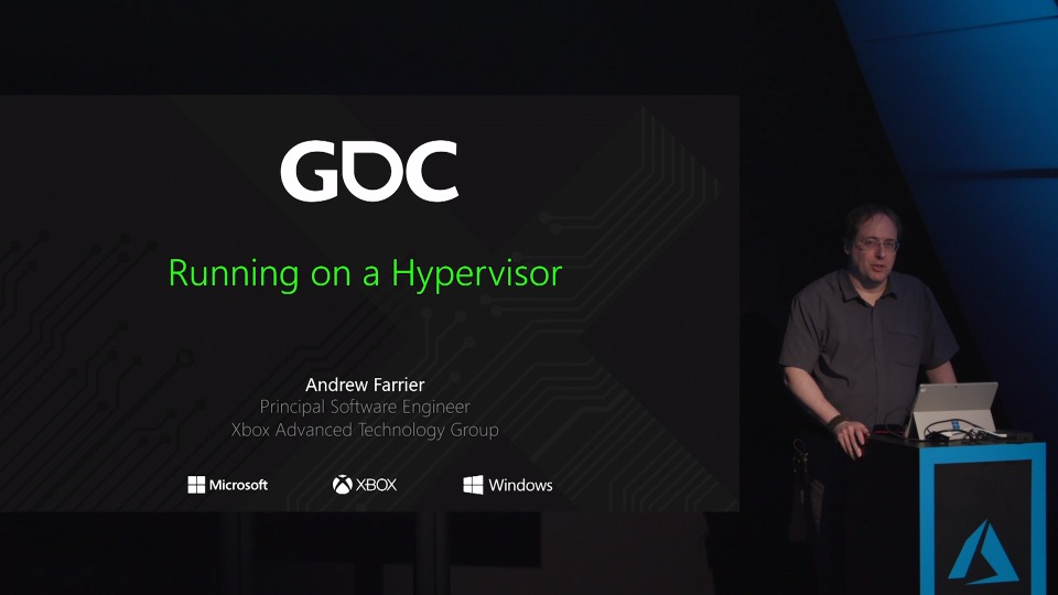 Running on a Hypervisor - Theater Presentation