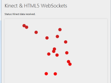 Kinect, HTML5, WebSockets and Canvas