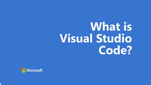 One Dev Question - What is Visual Studio Code?