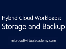Hybrid Cloud Workloads: Storage and Backup