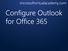 Configure Outlook for Office 365