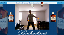 Kinect to New Ballantines