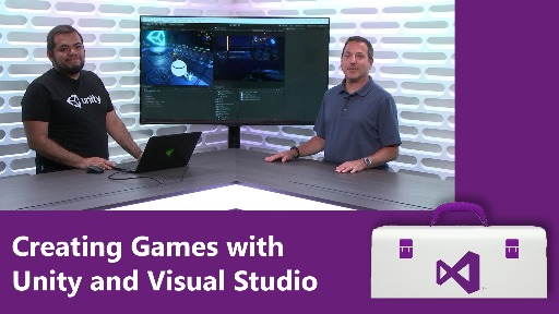 Creating Games with Unity and Visual Studio