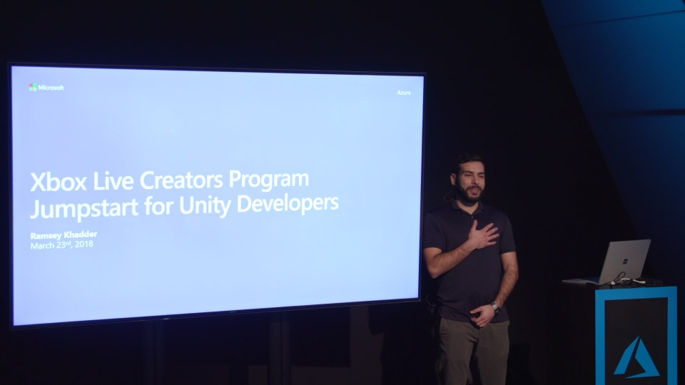 Xbox Live Creators Program Jumpstart for Unity Developers
