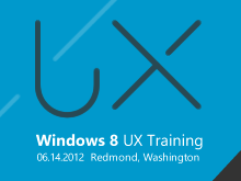 Windows 8 UX Fundamentals Training Workshop 2012
