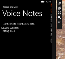 Cloudy Text - Windows Phone 8 to Voice to Text to Azure