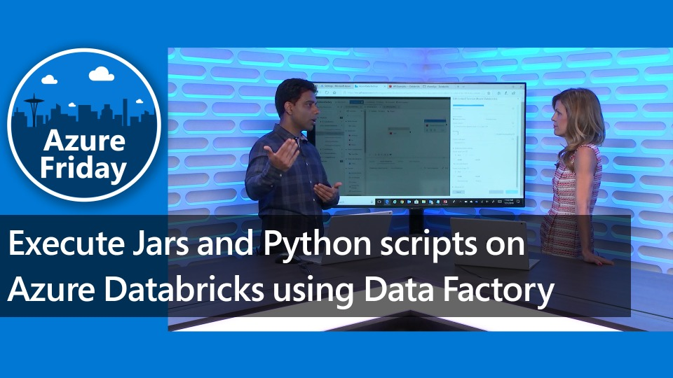 Execute Jars and Python scripts on Azure Databricks using Data Factory