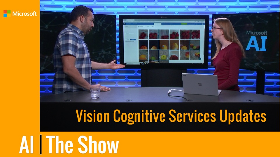 Vision Cognitive Services Updates
