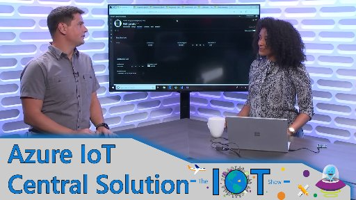 First look at Maps in Azure IoT Central