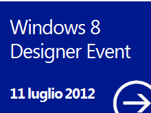 Italy Windows 8 Designer Event