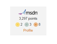 Announcing MSDN Profile Integration