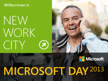 Microsoft Day 2013: NEW WORK CITY, revisited