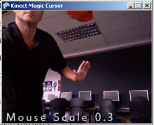 Kinect Magic Cursor version 1.2, now with source...