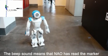 Using QR codes to streamline robot navigation