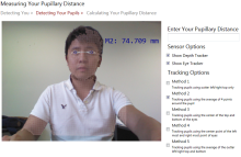 Eye Tracking with Kinect for Windows