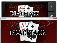 Playing Blackjack on your new XBox 360, Windows PC and/or Windows Phone 7.1(5)
