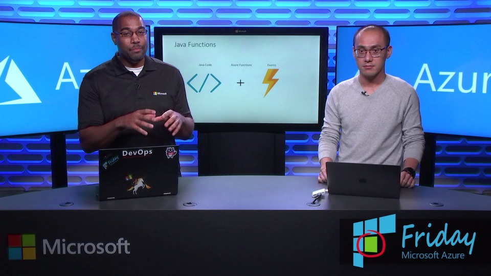 Java in Azure Functions | Azure Friday | Channel 9