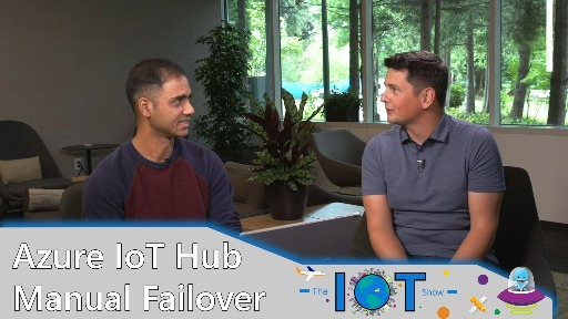 Azure IoT Hub Manual Failover