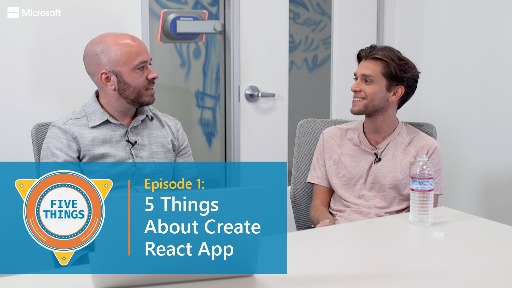 S01 E01: Five Things About Create React App