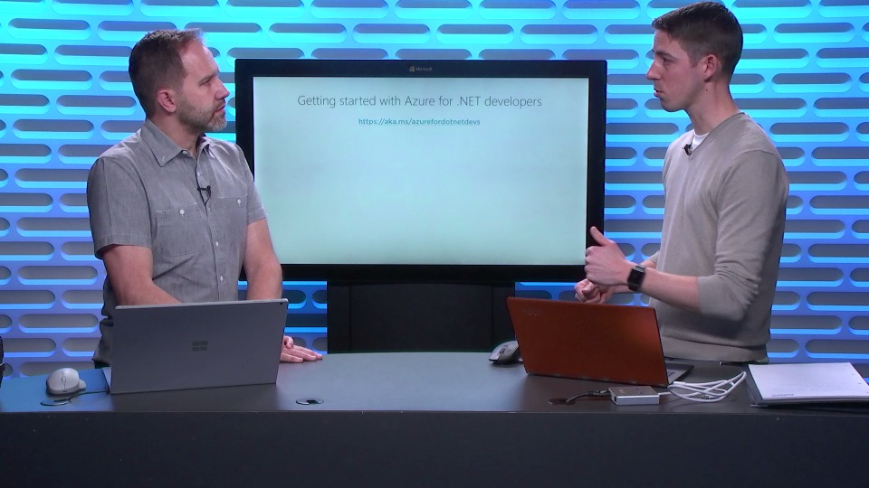 Get started with Azure for .NET developers