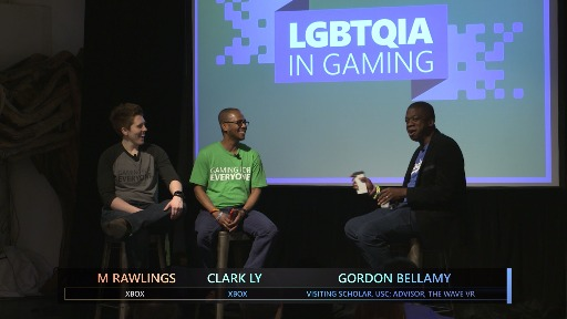 Gaming for Everyone: LGBTQIA in Gaming Gordon Bellamy Fireside Chat