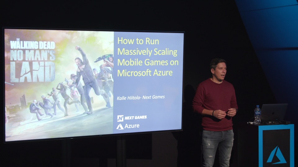How The Walking Dead No Man's Land was built to scale on Azure - Theater Presentation