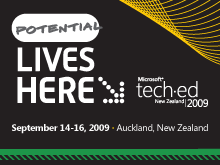 Tech·Ed New Zealand 2009