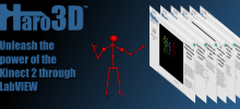 Haro3D - Kinect for Windows v2 for LabVIEW