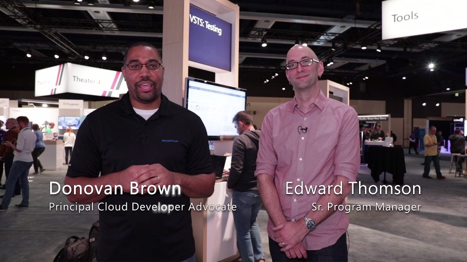 At Build 2018: VSTS - Git and TFVC