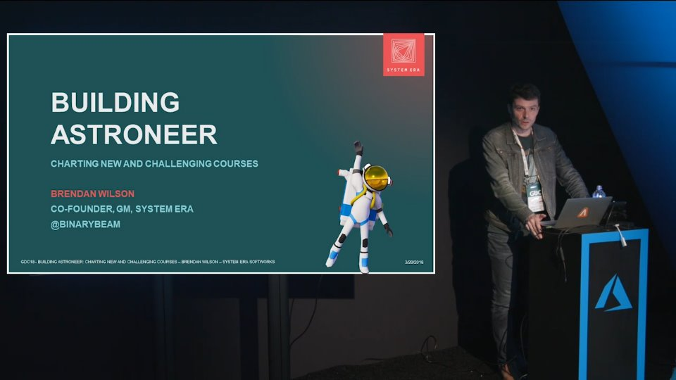 Building Astroneer: Charting new and challenging courses