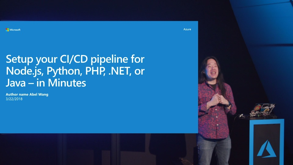 Setup your CI/CD pipeline for Node.js, Python, .NET, Go, Ruby, or Java - in Minutes