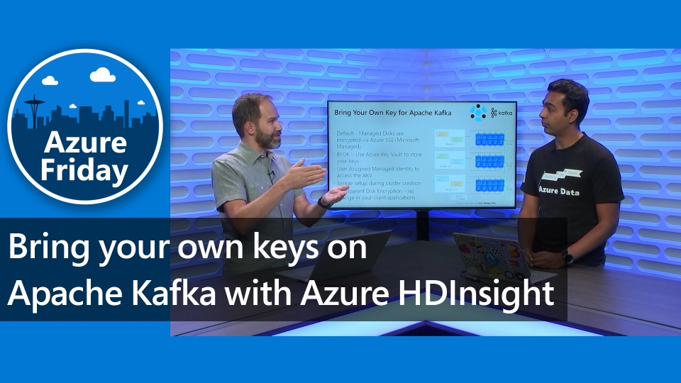 Bring your own keys on Apache Kafka with Azure HDInsight