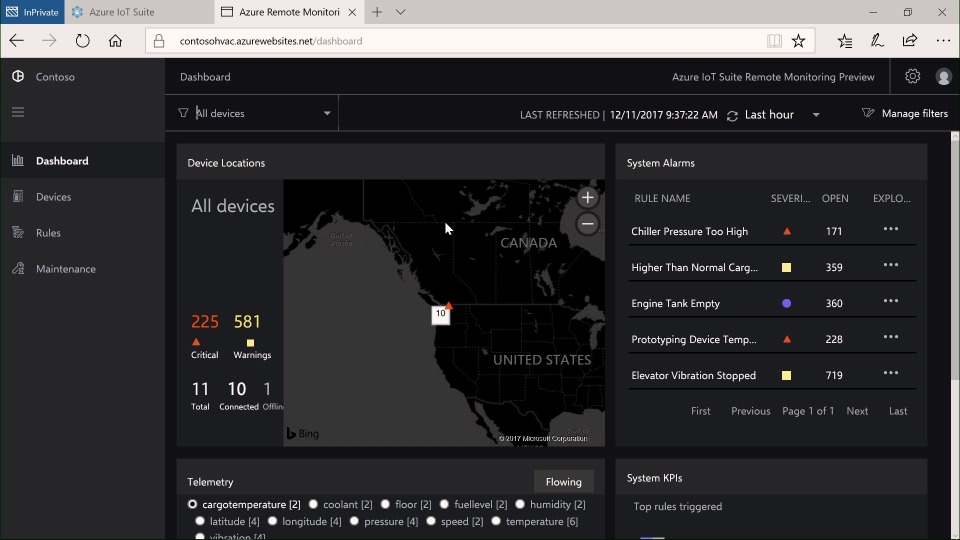 Part 2/8 An introduction to Azure IoT through the new Remote Monitoring Preconfigured Solution