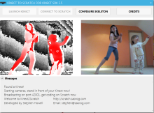 Kinect2Scratch gets a fresh new site and some updates too