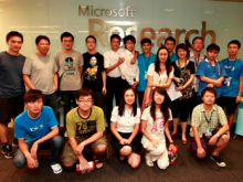 The Kinect knows no national boundaries, as shown by Chinese University students pushing the Kinect's boundaries